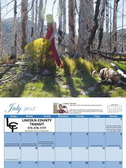 To purchase a calendar or learn more, call Andrea Fernandez