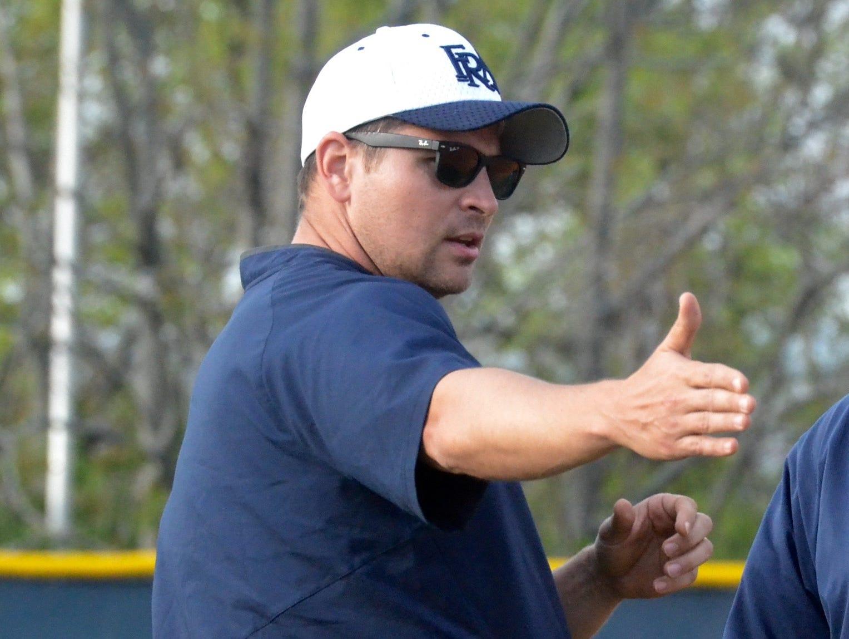 First-year FRA baseball coach Jon Wilson