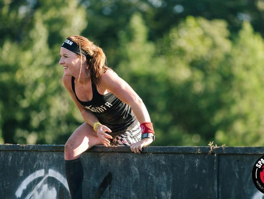 Overcoming obstacles is a big part of Spartan Racing.