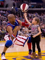 Harlem Globetrotter Scooter Christensen will be at Discovery Center on MLK Day to perform some of his Guinness World Record-setting tricks.