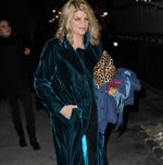 Kirstie Alley is back on Jenny Craig in an effort to lose 30 pounds.