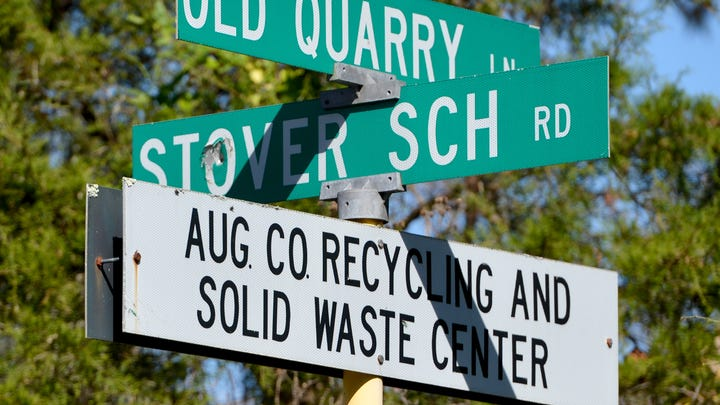 Global recycling economics unexpectedly impacts Staunton recycling program
