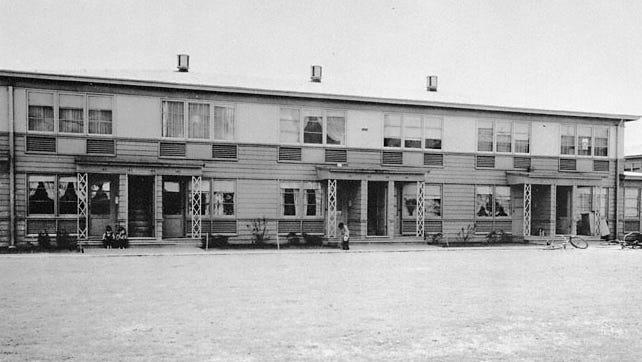 Vanport Residences in 1947.