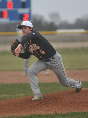 Spencer Mutchler and the Eagles could have a busy week if the weather holds off.