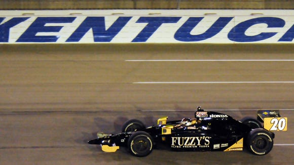 Kentucky Speedway last hosted an IndyCar race in 2011. Ed Carpenter was the winner.