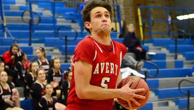 Avery County's Jeffrey Puckett.