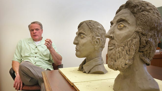 Indiana State Police investigator Stoney Vann recently discussed the unsolved 1978 Burger Chef murders.  Two busts have been made, based on artist's renderings of two suspects from the case.