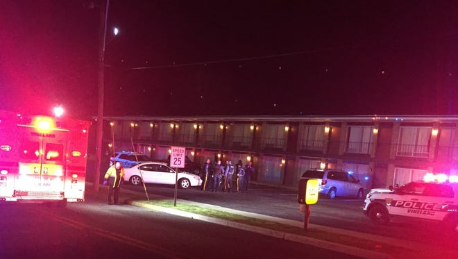 Vineland Police responded to an incident about 9 p.m Wednesday at the Days Inn on West Landis Avenue and took one person into custody.