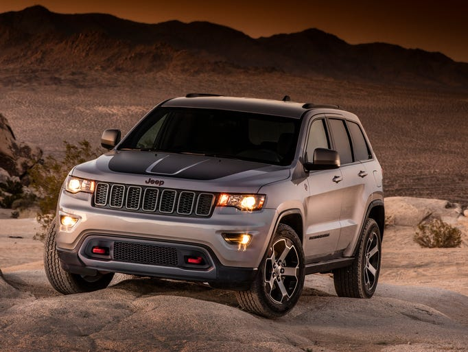 The new 2017 Jeep Grand Cherokee Trailhawk  has a more