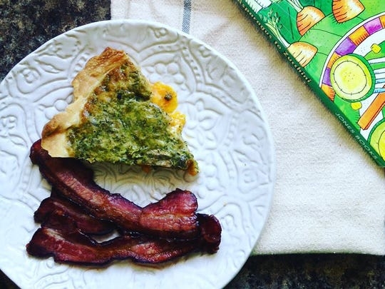 "Broccoli Basil Quiche appears in FairShare's ""From Asparagus to Zucchini"" cookbook."