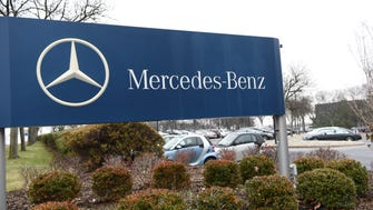 The Mercedes property in Montvale.