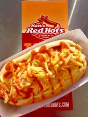 Matt's Red Hots serves hot dogs, burgers, hand-cut