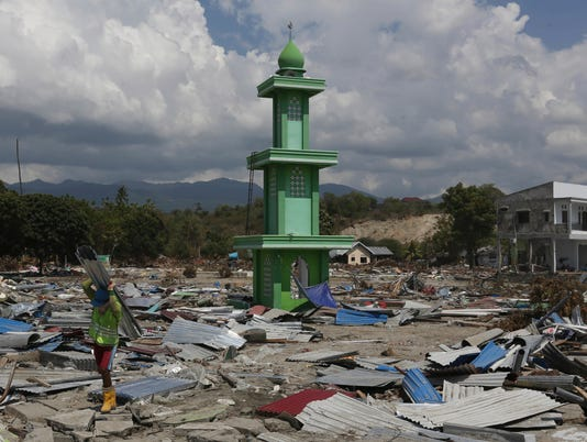 AP APTOPIX INDONESIA EARTHQUAKE I IDN
