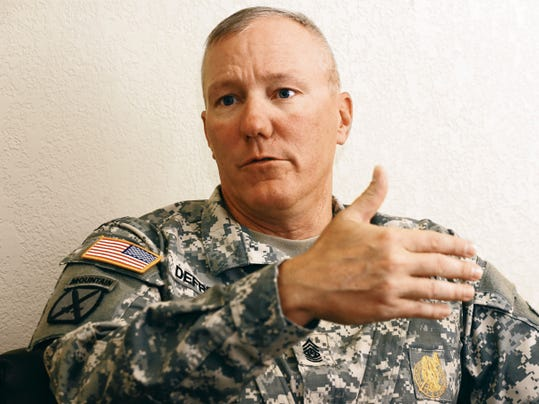 U.S. Army Sergeants Major Academy commandant Command Sgt. Maj. Dennis E. Defreese spoke about his experiences after one year at the helm of the academy.