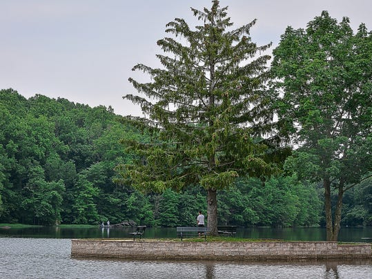 Gifford Pinchot State Park, bottom left, is a 2,338-acre park in Warrington Township. The 340-acre Pinchot Lake features swimming, boating, fishing and numerous hiking trails.