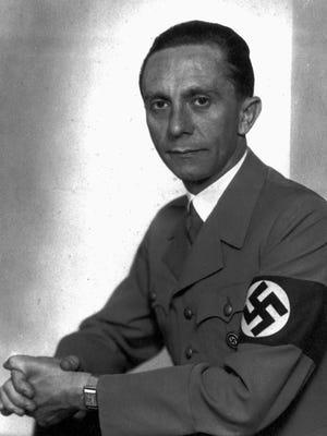 Joseph Goebbels was Nazi propaganda minister under Adolf Hitler.