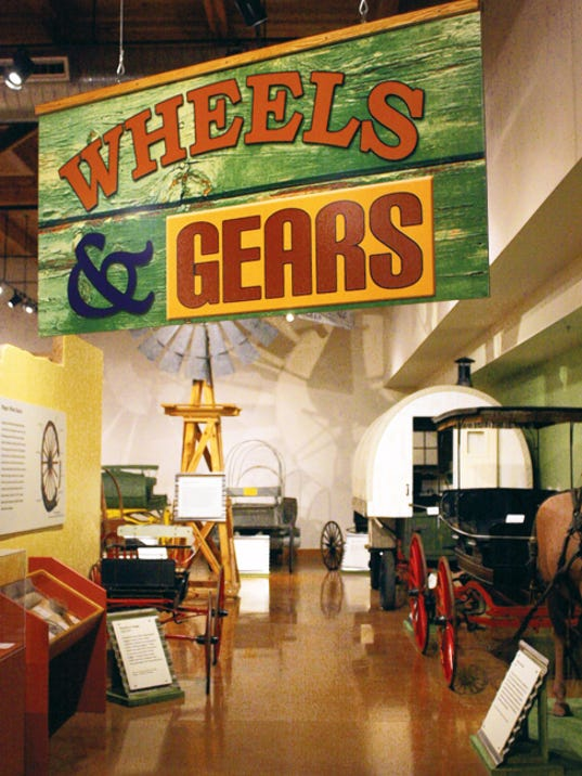 Courtesy Photo   The new exhibit at the New Mexico Farm and Ranch Heritage Museum chronicles the modes of transportation in New Mexico.