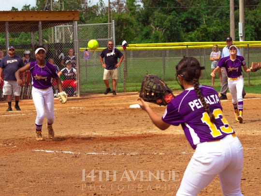 Pitching and defense keyed District 9's 5-0 record in sectional and state play.