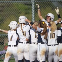 For Whitnall softball, big bats and big laughs are at the center of success