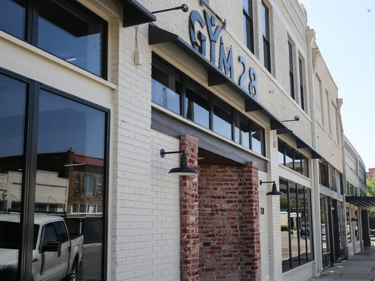 Gym 28 opened at 18 N. Chadbourne St. in one of the buildings David Mazur renovated.