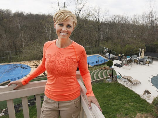 Channel 19's Tricia Macke and her husband, Chris, moved out of a house across the street from her parents in Newport into a six-bedroom home in Fort Thomas 15 years ago.