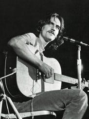 James Taylor performs at Stokely Athletic Center on
