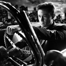 "Jospeh Gordon-Levitt in a scene from ""Sin City: A Dame to Kill For."""