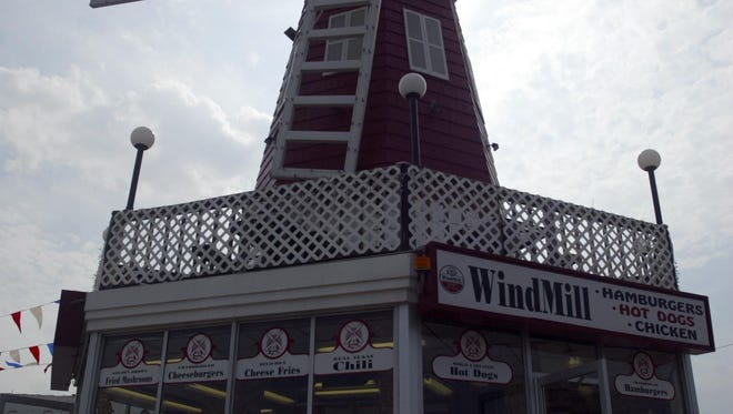 The Windmill Restaurant.