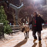 "Anthony Mackie as Chris Roberts the movie ""The Night Before."""