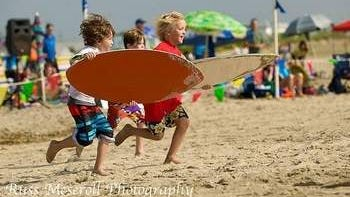 All ages compete in SkimBash 2014