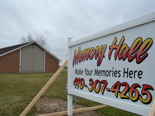 Memory Hall recently underwent interior renovations that include new lighting and new flooring.