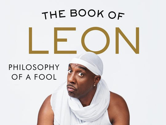 """The Book of Leon: Philosophy of a Fool"" by Leon Black, JB Smoove and Iris Bahron Black."