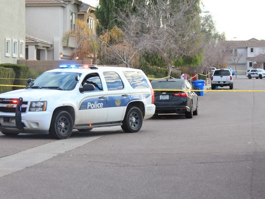 Phoenix police responded to a fatal shooting at a house