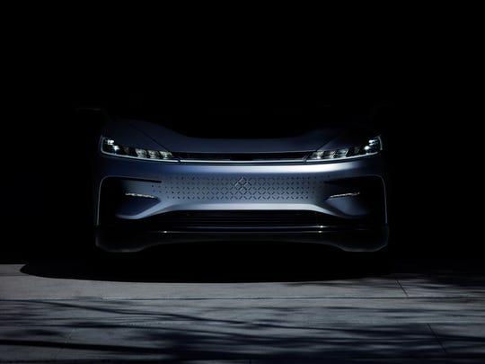 Faraday Future has a 1,000-horsepower electric car