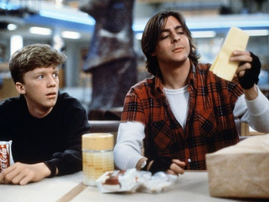 Anthony Michael Hall and Judd Nelson in John Hughes'
