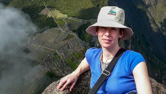 Susan Portnoy in Machu Picchu.