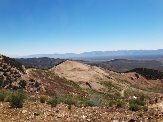 Mt. Hope in Nevada is the site of a controversial proposed molybdenum mine.