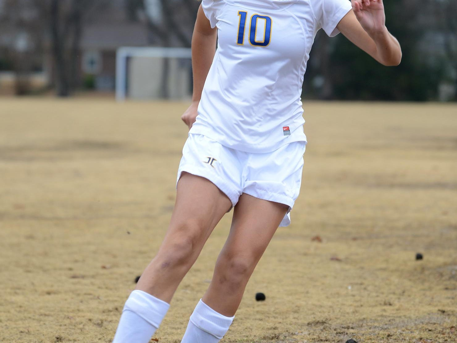 Jackson Christian's Amelia Grizzell scored 45 goals and added 24 assists last season for the Lady Eagles.