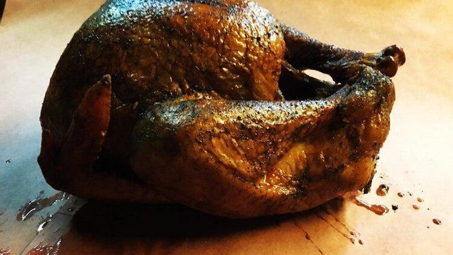 Old Coupland Inn and Dance Hall is selling smoked turkeys through its website.