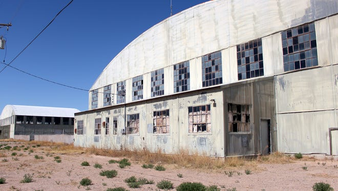"""The old Deming Air Base hangars served as a backdrop to Steven Spielberg's 2008 blockbuster """"Indiana Jones and the Kingdom of the Crystal Skulls""""."""