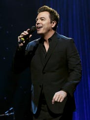 Seth MacFarlane's singing, clearly inspired by Sinatra's,