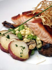 Fatty fish can beat back allergen-induced inflammation through omega-3 fatty acids.