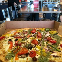 This is the first and only pizza joint in the Des Moines metro to feature a cauliflower crust
