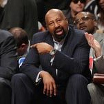 Mike Woodson was fired by the Knicks on Monday along with the rest of theteam's coaching staff.