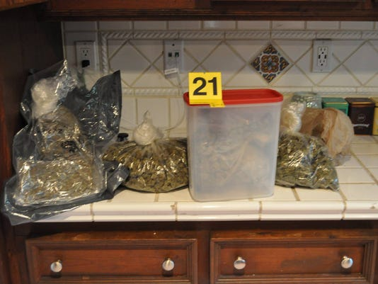 30 pounds of marijuana was found in an Indian River home, deputies said.