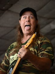 Eric Page fronts Live & Learn, playing classic rock