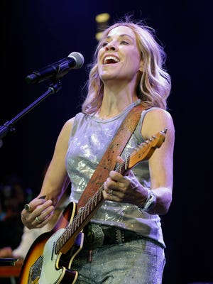 File photo of Sheryl Crow performing at Summerfest's American Family Insurance Amphitheater.