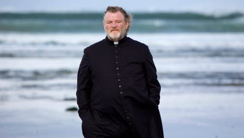 """Brendan Gleeson is at the center of a mystery in  """"Calvary."""""""