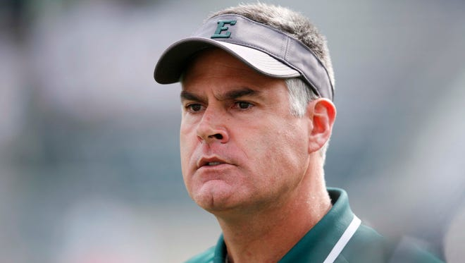First-year Eastern Michigan coach Chris Creighton is battling history and perception in his new job, but he welcomes the challenge.