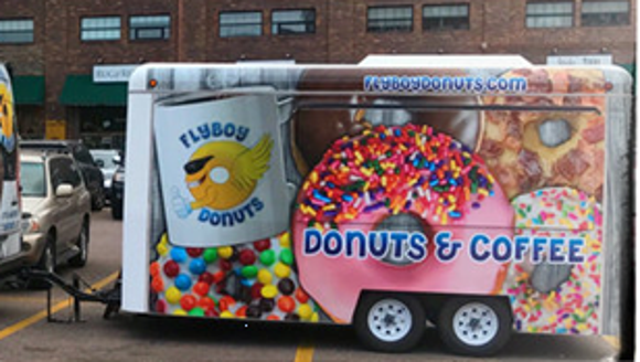 Flyboy Donuts has expanded to include a Food Truck